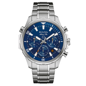 Bulova Marine Star Men's Chronograph Watch 96B256