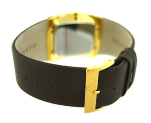 Skagen Replacement Brown Leather Strap For 567LGLD1