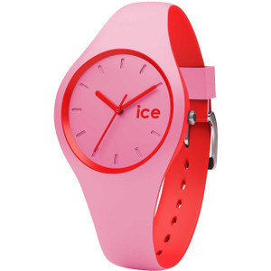 Ice-Watch Unisex Duo Pink Red Watch DUO.PRD.S.S.16