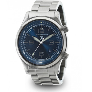 Elliot Brown Canford Mens Blue Dial Divers Watch 202-007-B02