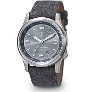 Elliot Brown Tyneham Automatic Mens Grey Watch 305-D02-F01