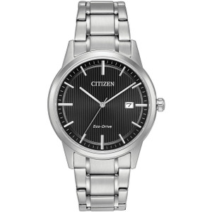 Citizen Mens Eco Drive Black Sports Watch AW1231-58E