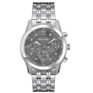 Bulova Men's Diamond Chronograph Watch 96D135