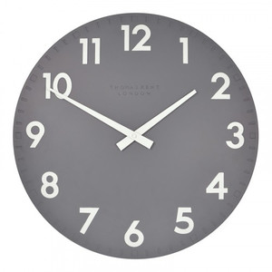 Thomas Kent Camden Large 51cm Designer Wall Clock in Slate CK20112