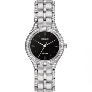 Citizen Ladies Swarovski Bracelet Eco Drive Watch FE2060-53E