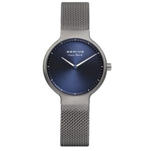 Bering Ladies Max Rene Designed Grey Stainless Steel Watch 15531-077