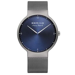 Bering Mens Max Rene Designed Grey Stainless Steel Watch 15540-077