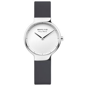 Bering Ladies Max Rene Designed Black Rubber Watch 15531-400