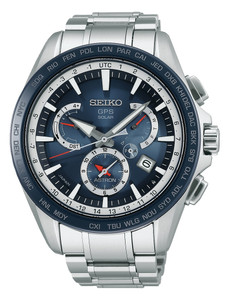 Seiko Astron Mens GPS Controlled Solar Watch SSE053J1