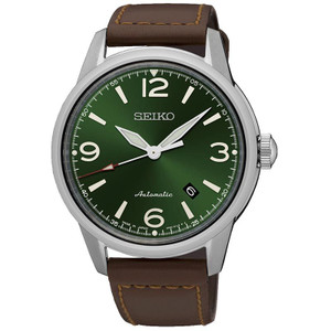 Seiko Presage Automatic Green Dial Watch SRPB05J1
