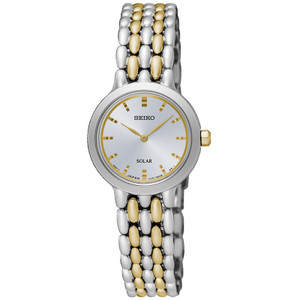 Seiko Ladies Two-Tone Bracelet Watch SUP349P1