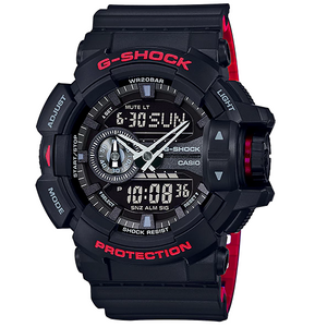 G-Shock Men's Alarm and Dual Digital Chronograph Watch GA-400HR-1AER