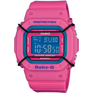 Pink Baby-G Coloured Digital Dial Alarm Chronograph Watch BGD-501-4ER
