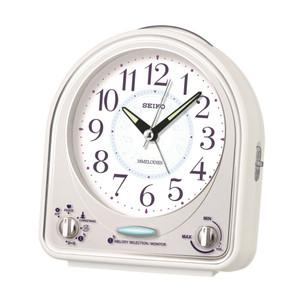 Seiko Alarm Clock Analogue White QHP003W