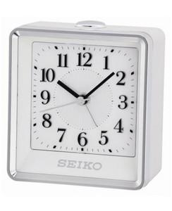 Seiko Bedside Beep Alarm Clock With Flashing Light QHE142W