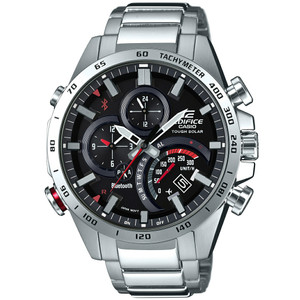 Casio Edifice Analogue Bluetooth Watch Tough Solar Red EQB-501XD-1AER