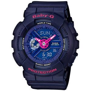 Baby-G Punching Pattern Purple Watch BA-110PP-2AER