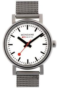 Mondaine Evo Petite Ladies Mesh Bracelet Small Size Watch A658.30301.11SBV