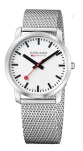 Mondaine Simply Elegant Gents Mesh Bracelet Slim Watch A638.30350.16SBM