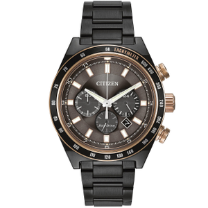 Citizen Eco-Drive Men's Sport Grey Chronograph Watch CA4207-53H