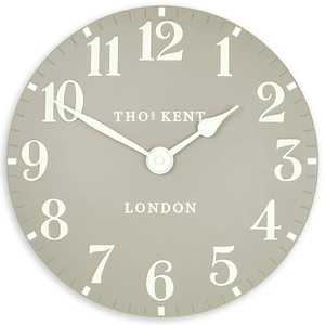 Thomas Kent Arabic Dove Grey Wall Clock CK12156 (30 cm)