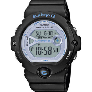 Baby-G Black Digital Dial Running Chronograph Watch BG-6903-1ER