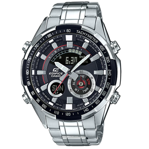 Casio Edifice World Time Chronograph Thermometer Watch ERA-600D-1AVUEF