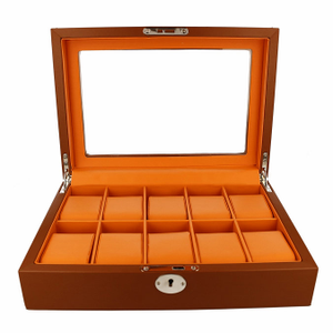 Orbit Men's Leather Watch Box OW180