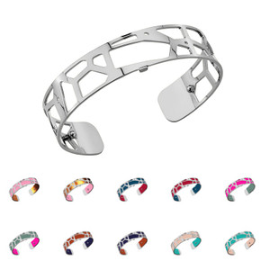 Les Georgettes Ladies Bracelet Silver Small Size Girafe
