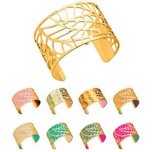 Les Georgettes Ladies Bracelet Gold Large Size Fougeres