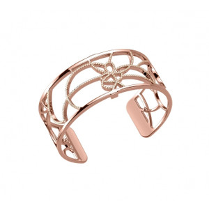 Les Georgettes Ladies Bracelet Rose Gold Medium Size Petals