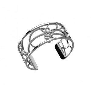 Les Georgettes Ladies Bracelet Silver Medium Size Petals