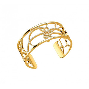 Les Georgettes Ladies Bracelet Gold Medium Size Petals