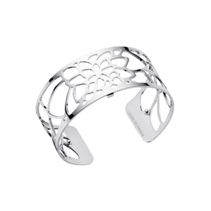 Les Georgettes Ladies Bracelet Silver Medium Size Nenuphar