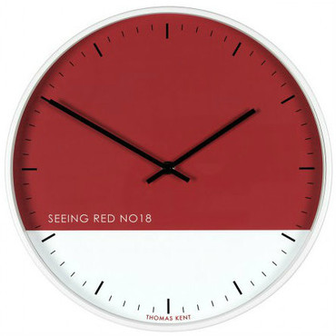 Thomas Kent Eden Clock Seeing Red Wall Clock CKP1611