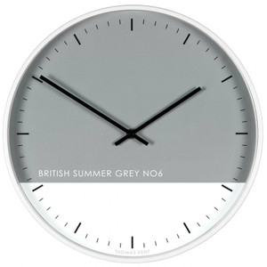 Thomas Kent  Eden British Summer Grey  Wall Clock CKP1610