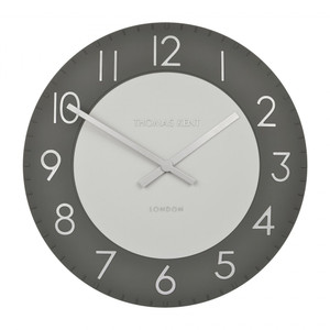 Thomas Kent Townhouse Graphite Large Wall Clock CKK2003