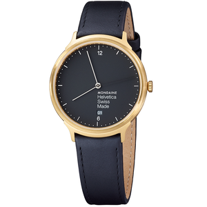 Mondaine Helvetica No1 Light Gents Watch MH1.L2221.LB