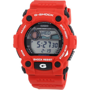 Red G-Shock G-7900A-4ER dial