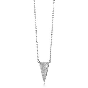 Sif Jakobs Necklace Pecetto Grande With White Zirconia