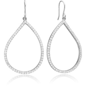 Sif Jakobs Earrings Sassello With White Zirconia