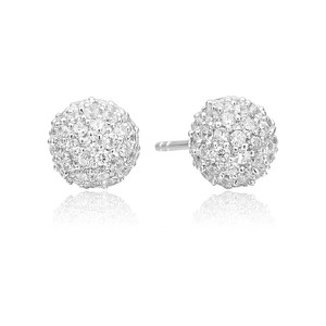 Sif Jakobs Earrings Bobbio With White Zirconia