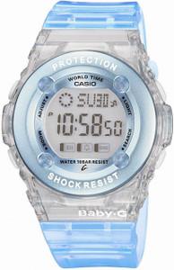 Casio Baby G Watch Blue Ladies Digital Watch BG-1302-2ER