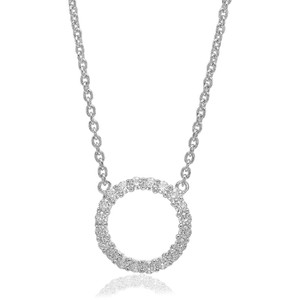 Sif Jakobs Necklace Biella Grande With White Zirconia