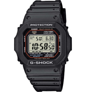 Casio G-Shock Solar Radio Controlled Black Watch GW-M5610-1ER