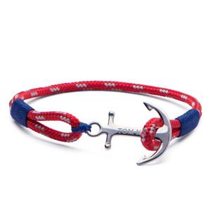 Tom Hope Arctic Blue Sterling Silver Bracelet in Medium Size