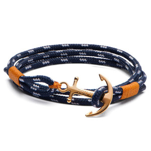 Tom Hope 24K Brass Anchor Bracelet in Medium Size