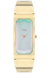 Storm Trixie Gold-Ice 21 Karat Gold Plating Men's Watch
