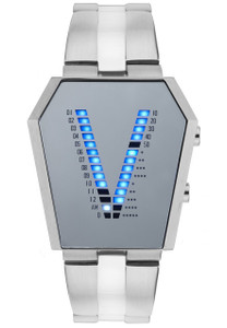 Storm Vaultron Stainless Steel Mirror Men's Watch