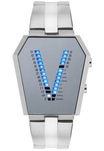 Storm Vaultron Stainless Steel Mirror Men's Watch